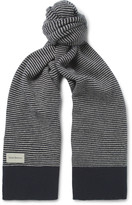 Oliver Spencer Dock Striped Wool Scarf