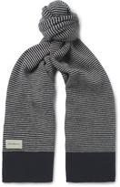 Oliver Spencer - Dock Striped Wool Scarf