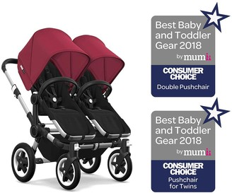 Bugaboo Donkey2 Twin Pushchair- Ruby Red