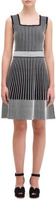Kate Spade Rib Knit Striped Sweater Dress