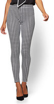 New York & Co. Soho Jeans - Houndstooth-Print Legging