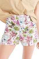 J.Crew Women's Harbor Print Sailor Shorts