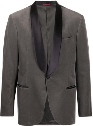 Brunello Cucinelli Single-Breasted Tuxedo Blazer