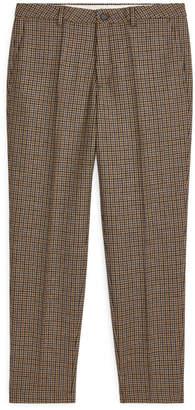 Arket Regular Trousers Tweed
