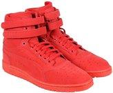 Puma Sky II Hi Mono NBK Mens Nubuck High Top Lace Up Sneakers Shoes 10
