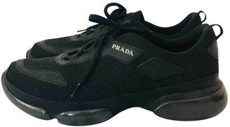 Prada Cloudbust Black Cloth Trainers