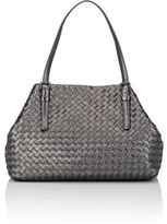 Bottega Veneta Women's Intrecciato Medium Tote-DARK GREY