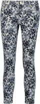 MICHAEL Michael Kors Izzy printed low-rise skinny jeans