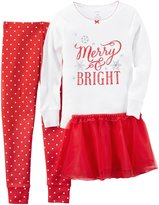 Carter's 3 Piece PJ Skirt Set (Toddler/Kid) - Print - 7