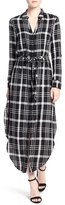 Cupcakes And Cashmere Women's 'Wes' Plaid Shirtdress