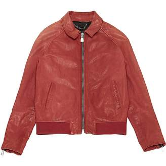 Belstaff Red Leather Jackets