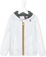 K Way Kids - zipped raincoat - kids - Cotton/Polyamide - 8 yrs