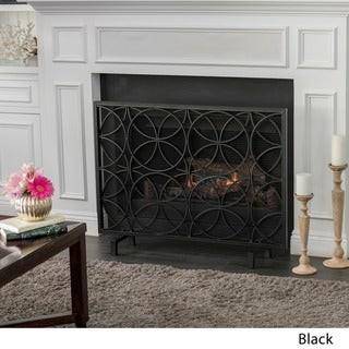 Christopher Knight Home Valeno Single Panel Fireplace Screen
