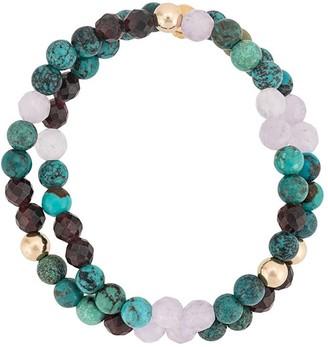 Nialaya Jewelry Beaded Double-Strand Bracelet