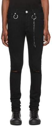 Mastermind Japan Black Skinny Jeans