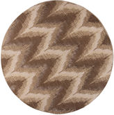 Kas Donny Osmond Timeless by Chevron Round Rug
