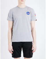 Alpha Industries Space Shuttle Cotton-jersey T-shirt