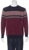 Kiton Cashmere Argyle Sweater w/ Tags