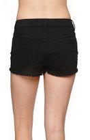 Bullhead Denim Co High Rise Fray Hem Shorts