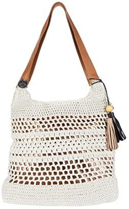 The Sak Huntley Crochet Hobo (Natural) Hobo Handbags
