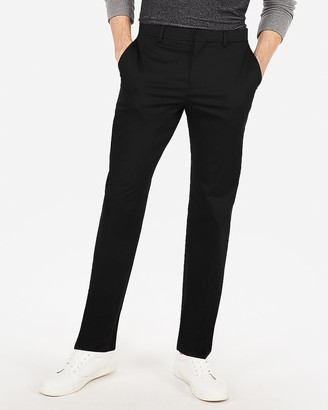 Express Classic Performance Stretch Cotton Dress Pant
