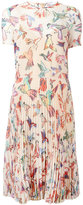 RED Valentino floral print dress - women - Polyester - 40