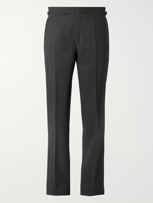 Tom Ford O'connor Melange Wool-Blend Suit Trousers