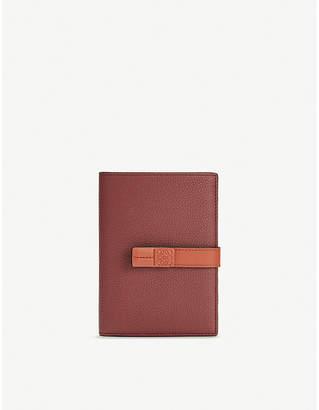 Loewe Medium vertical grained-leather wallet
