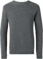 Oliver Spencer ripple stitch crew neck jumper
