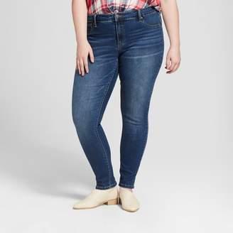 Universal Thread Women's Plus Size Jeggings Dark Wash