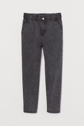 H&M Loose Fit High Waist Trousers