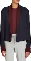 Lauren Ralph Lauren Reversible Cardigan, RI Navy/Red Sangria