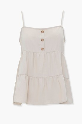 Forever 21 Tiered Flounce Cami