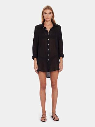Vitamin A Playa Linen Shirt Dress