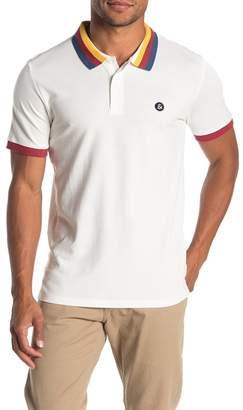 Jack and Jones Rainbow Trim Polo Shirt