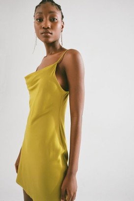 Urban Outfitters Mallory Cowl Neck Essential Slip Dress