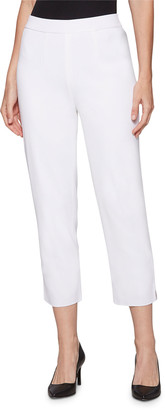 Misook Lined Knit Ankle Pants