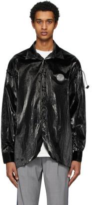 Ader Error Black Oblique Shirt