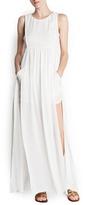 MANGO Slits sheer long dress