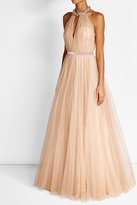 Jenny Packham Floor Length Gown with Embellishment