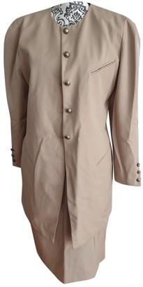 Georges Rech Beige Wool Jacket for Women