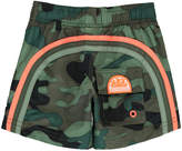 Sundek Three Band Camouflage Swimshorts