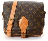 Louis Vuitton Pre-Owned Coated Canvas Monogram Cartouchiere MM