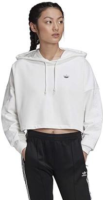 adidas Fakten BB CP Hoodie (White) Women's Sweatshirt