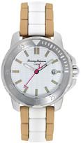 Tommy Bahama Women&s Laguna Silicone Bracelet Watch