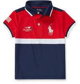 Ralph Lauren 2-6X Us Open Ball Girl Polo Shirt