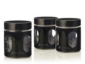Maxwell & Williams Cosmpolitan 600Ml Canister Set Of 3