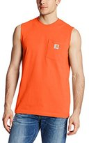 Carhartt Men's Workwear Pocket Sleeveless Midweight T-Shirt