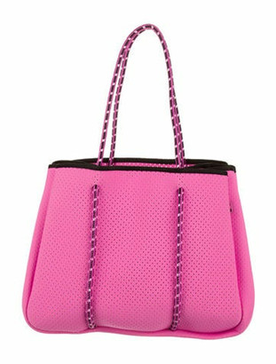 Annabel Ingall Sporty Spice Neoprene Tote Pink