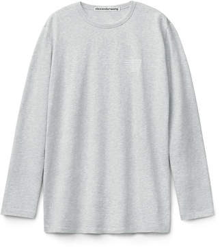Collection high twist long sleeve tee